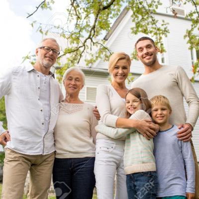 31682304 family happiness generation home and people concept happy stock photo