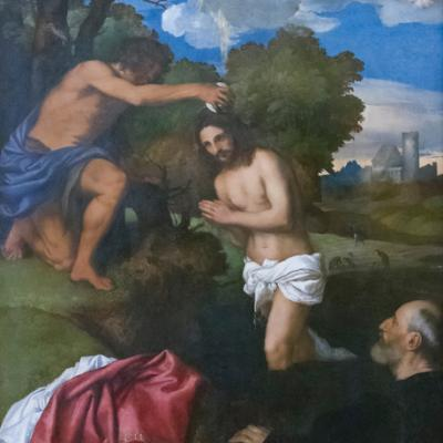 Bapteme christ titian 1512 bridgeman