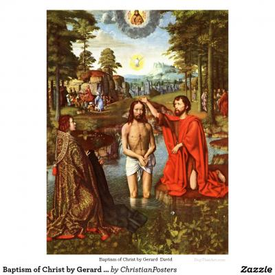 Bapteme du christ par gerard david poster rfdc6344780a04a609523693e902b75a6 zbpza 8byvr 1024