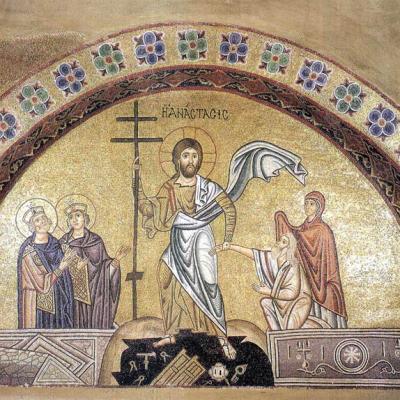 Christ aux enfers